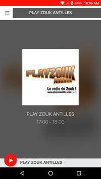 PLAY ZOUK ANTILLES poster