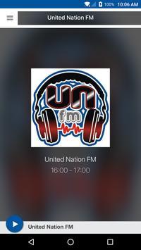 United Nation FM poster