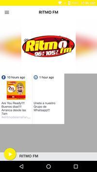 RITMO FM poster