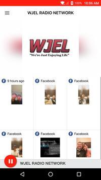 WJEL RADIO NETWORK poster