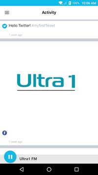 Ultra1 FM apk screenshot