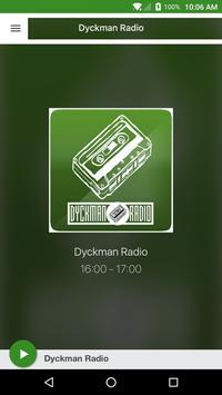 Dyckman Radio poster