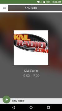 KNL Radio poster