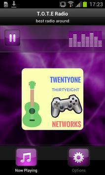 T.O.T.E Radio poster