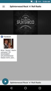 Splinterwood Rock n Roll Radio poster
