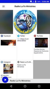Radio La Fe Ministries poster