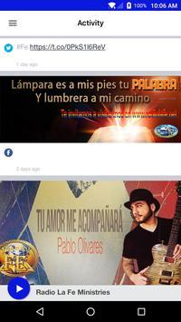 Radio La Fe Ministries apk screenshot