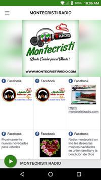 MONTECRISTI RADIO poster