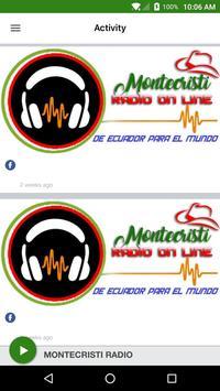 MONTECRISTI RADIO apk screenshot