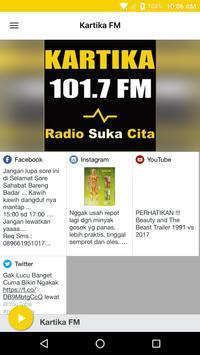 Kartika FM poster