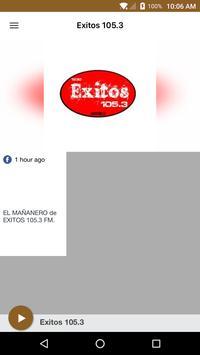 Exitos 105.3 poster