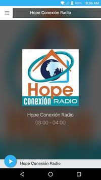 Hope Conexión Radio poster