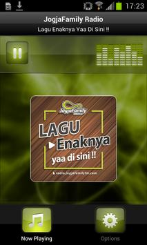 JogjaFamily Radio poster
