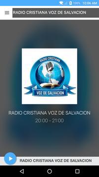 RADIO CRISTIANA VOZ DE SALVACION poster