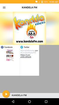 KANDELA FM poster