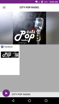 CITY POP RADIO. poster