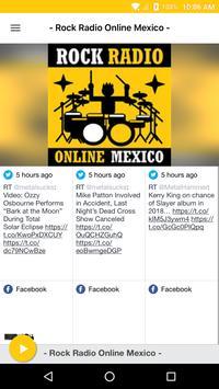 - Rock Radio Online Mexico - poster
