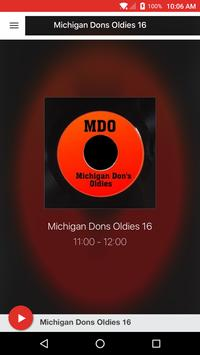 Michigan Dons Oldies poster