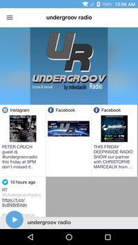 undergroov radio poster