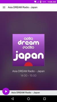 Asia DREAM Radio - Japan poster