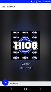 La H108 poster