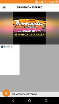 BIENVENIDA ESTEREO poster