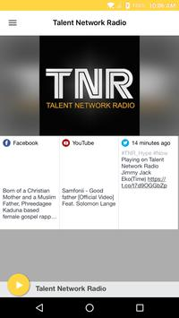Talent Network Radio poster