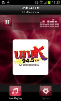 Unik 94.5 FM poster
