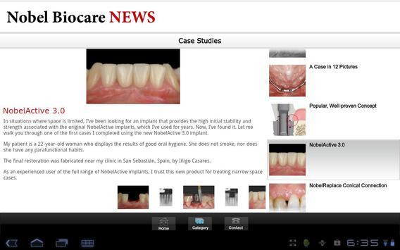 Nobel Biocare apk screenshot