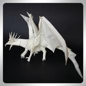 Origami dragon Video icon