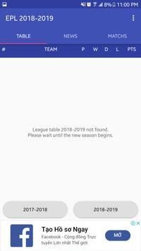Epl table 2018 2019 para android apk baixar epl table 2018 2019 imagem de tela 1 stopboris Image collections