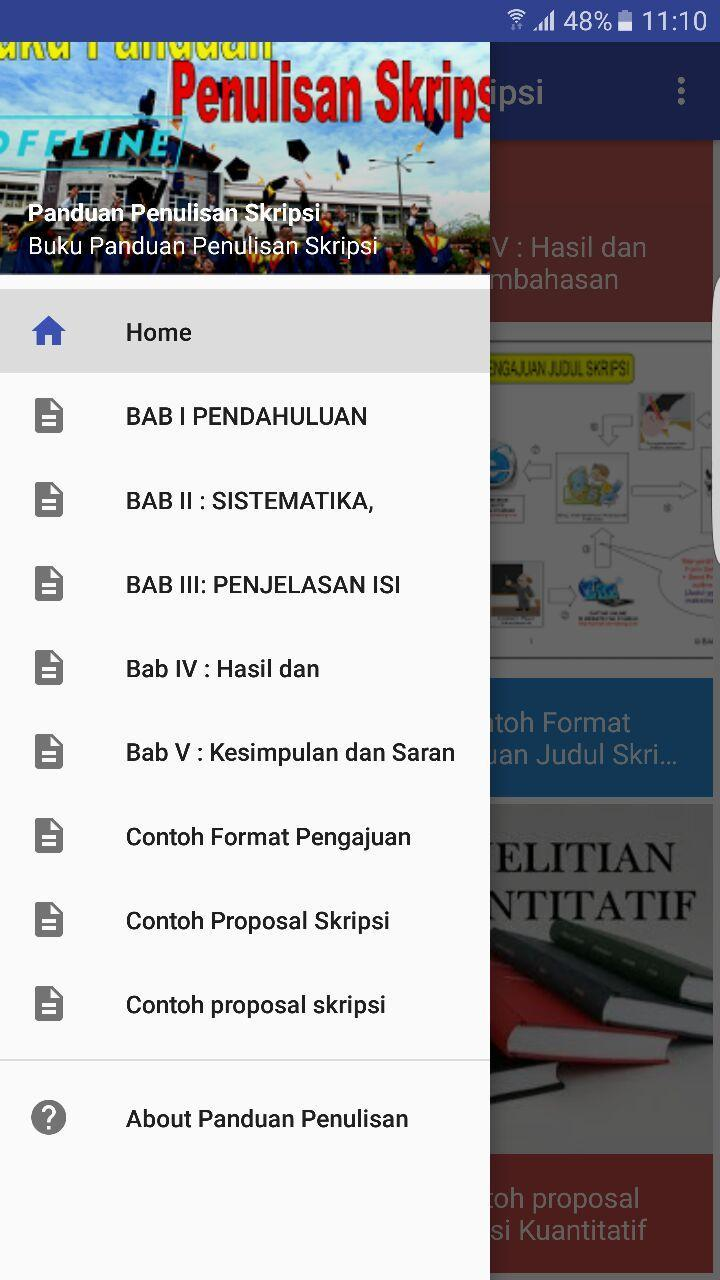 Panduan Penulisan Skripsi For Android Apk Download