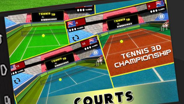 Tennis 3D Light apk screenshot