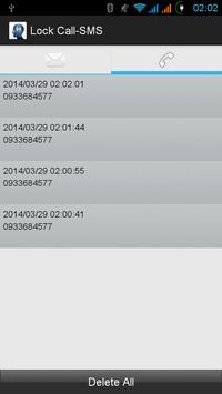 Lock Call SMS screenshot 8
