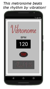 Vibronome - beats by vibration poster