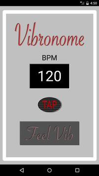 Vibronome - beats by vibration apk screenshot