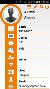 SSGMCE Alumni screenshot 3