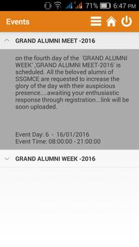 SSGMCE Alumni screenshot 4