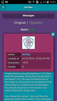 Nofake - Public Messages apk screenshot