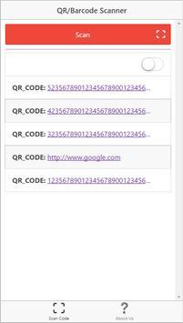 QR & Barcode Reader-No Frills poster