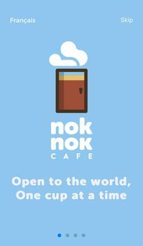 Nok Nok CAFE poster