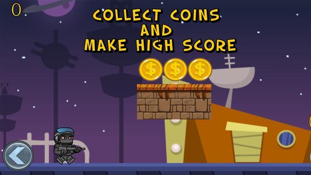 Soldier Adventures Game screenshot 1