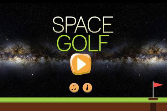 Space Golf poster