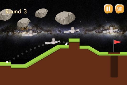 Space Golf screenshot 1