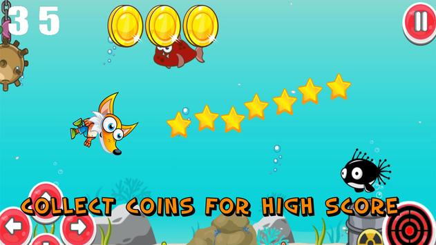 Swimming Fox screenshot 2