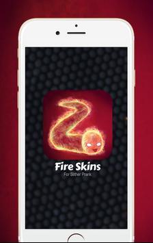 Fire Skin For Slither.io Prank captura de pantalla 2