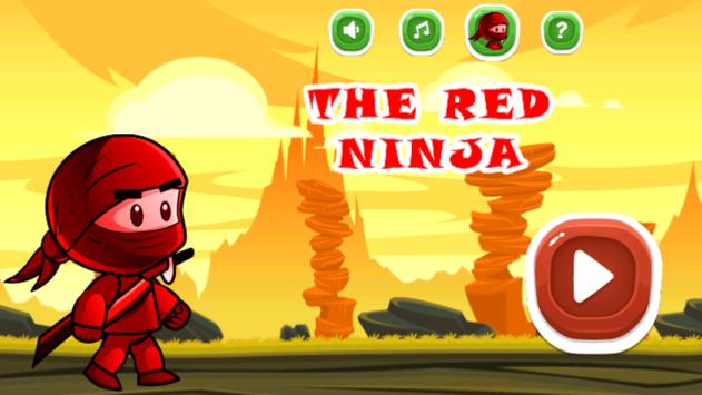 The Red Ninja Fight poster