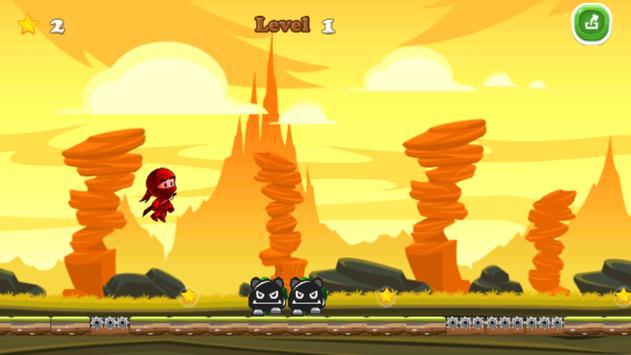 The Red Ninja Fight screenshot 2