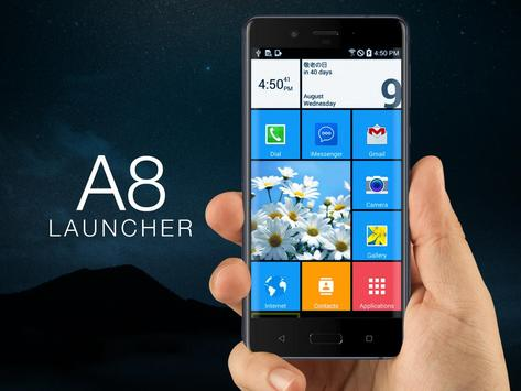 A8 Lauchner - Nokia Back poster
