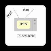 Icona Free IPTV Lists (m3u)